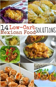 Lots of yummy low-carb options!