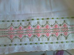 Swedish Embroidery, Ribbon Embroidery, Valance Curtains, Quilts, Blanket, Home Decor, Silk Ribbon Embroidery, Tape Art, Straight Stitch