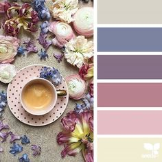 Design Seeds celebrate colors found in nature and the aesthetic of purposeful living. Colour Pallette, Color Palate, Colour Schemes, Color Combos, Color Patterns, Design Seeds, Palette Design, Colour Board, Color Swatches
