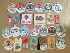 My handmade tags