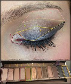 NAKED palette tutori
