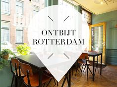 Looking for good hotspots for a delicious breakfast in Rotterdam? These are our 17 favourite hotspots with the tastiest food and the nicest interior. Travel Around Europe, Travel Around The World, Rotterdam Shopping, The Places Youll Go, Places To Go, South Holland, Utrecht, Wanderlust Travel, Netherlands
