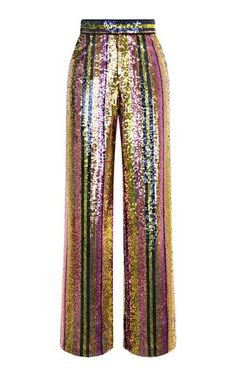 Wide Leg Sequin Pants This **Rasario** Wide Leg Sequin Pants features a high rise waistline with a simple silhouette and striped sequin bodice. Sequin Pants, Sequin Outfit, Pantalon Large, Passion For Fashion, Fashion Forward, Womens Fashion, Fashion Trends, Cool Outfits, Autumn Fashion