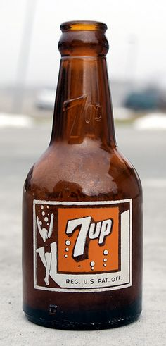 old-timey 7up