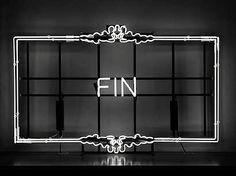 FIN - light art