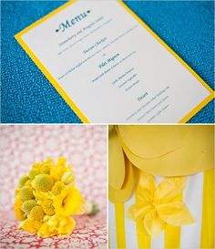 yellow wedding flowers - For more ideas and inspiration like this, check out our website at www.theweddingbelle.net