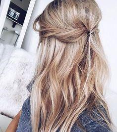 hair style.