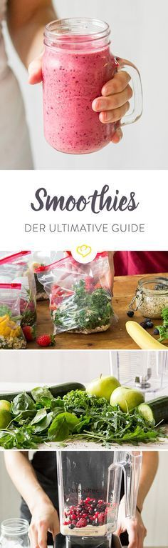The smoothie guide that answers all your questions - Shakes & Smoothies - Best Smoothie Recipes Smoothie Detox, Mango Smoothie Healthy, Best Smoothie, Smoothie Vert, Detox Salad, Smoothie Drinks, Healthy Drinks, Smoothie Recipes, Smoothie Bowl