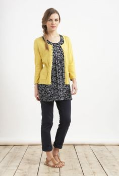 Boat Trip Tunic. Love the layered look