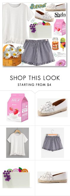 """Summer is Fun"" by arohii ❤ liked on Polyvore featuring Charlotte Russe, Charlotte Olympia and Yankee Candle"
