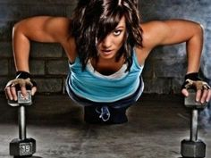 Motivation... Now try these combos: 1) Push-ups to mountain climber. 2) Burpee to overhead press. 3) Reverse lunge and twist to single-leg jumps. 4) Balance beam to tricep pressback. 5) Lateral lunge to lateral raises. #TWI #workout