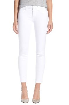 Pin for Later: Found: A Pair of White Jeans You'll Want to Show Off to the World  Paige Denim Verdugo Ankle Skinny Jeans (Ultra White) ($189)