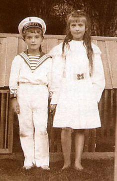 Anastasia and Alexei