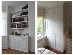 Fitted Wardrobes and other Built-in furniture best in London. We specialised in Fitted Bedrooms, Alcove Cupboards, bookshelves and other Fitted Furniture Alcove Ideas Living Room, Built In Shelves Living Room, Large Living Room Furniture, Fitted Bedroom Furniture, Living Room Wall Units, Fitted Bedrooms, Built In Furniture, Kitchen Furniture, Furniture Online