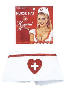Halloween Nurse Hat