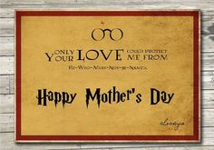 #HappyMothersDay #HarryPotter #mommy #love