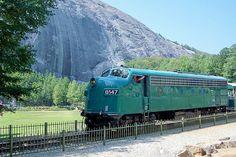 Stone Mountain Scenic Railroad, Georgia.. We need to do this.
