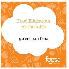 Today's at the table tip. Try going screen free for mealtimes (and that includes teeny phone screens). Focus on chatting and enjoying your time eating. #mindfuleating #familytable #screenfree