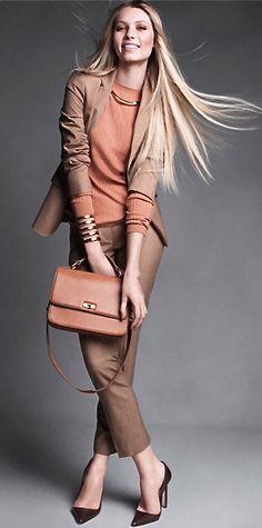 J. Crew & Vince  http://www.roehampton-online.com/?ref=4231900 #womensfashion #style #fashion  #office #work