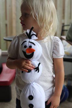 Olaf - Frozen - Olaf Stuffed Animal - Olaf Plush - Let it Go - Childrens Christmas Gift