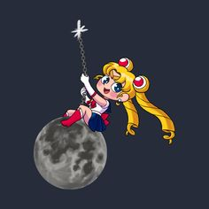 Check out this awesome 'Sailor+Moon+Wrecking+Ball' design on @TeePublic!