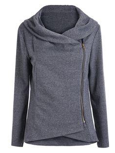 Shop Asymmetric Zip Outerwear online. SheIn offers Asymmetric Zip Outerwear & more to fit your fashionable needs.