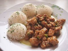 Hlavní jídla :: RECEPTY ZE ŠUMAVSKÉ VESNICE No Salt Recipes, Grains, Food And Drink, Rice, Ethnic Recipes, Health, Meat, Salud, Health Care