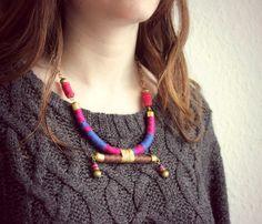 Collar hecho por Lilias Rope