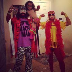 WWE - Macho Man Randy Savage, Ultimate Warrior, and Hulk Hogan
