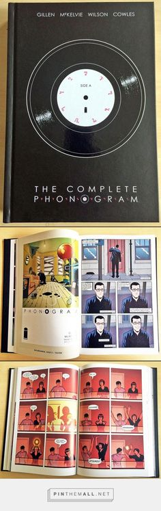 The Complete Phonogram has just arrived - all three volumes of the graphic novel plus 'B-sides'- extra content originally only published in the single issues. - created via https://pinthemall.net