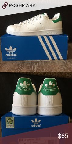 [SOLD] NWT - Adidas Stan Smith Bought one too many, brand new. Size 4 kids, fits size 6 women's Shoes Sneakers
