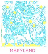 Maryland Print by Lilly Pulitzer