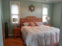 Benjamin Moore Palladian Blue bedroom decor | lifestyleblargh.blogspot.com