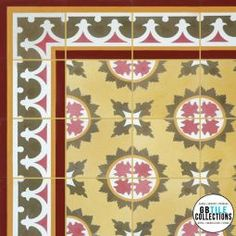 Encaustic Cement Tile - Macoris