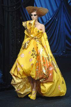 Christian Dior Spring 2008 Couture Fashion Show - Olga Sherer (NATHALIE)
