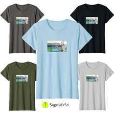 Shop our Back-to-School Sale and enjoy off for a limited time only on science and STEM career-related t-shirts! Science Biology, Life Science, Science Explorer, Stem Careers, Learn Programming, Etsy Coupon, Back To School Sales, Clothing Apparel, Dna
