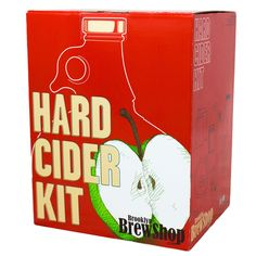 Create your own homemade hard cider with the new Hard Cider Making Kit, available at the Food Network Store!