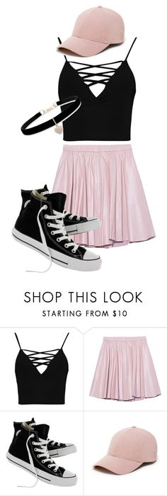 """Untitled #41"" by zinnt on Polyvore featuring Boohoo, 2NDDAY, Converse, Sole Society and Betsey Johnson"
