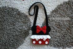 Crochet Minnie mouse crochet bags crochet by Emmacrochetdesign4U