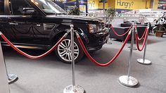 Posts & Ropes Hire For Exhibitions