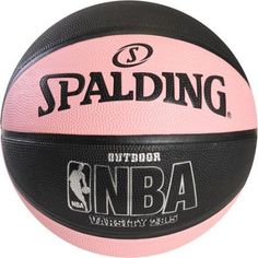 Spalding NBA Varsity Outdoor Basketball - The Spalding NBA Varsity Outdoor Basketball is designed to meet NBA standards. It's the same size and weight as any official NBA game ball and features. Chino Hills Basketball, Nike Basketball Socks, Xavier Basketball, Basketball Court Layout, Outdoor Basketball Court, Basketball Finals, Basketball Games For Kids, Curry Basketball, Basketball Equipment