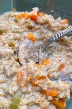 """Instant Pot® Freekeh Vegetable Soup 