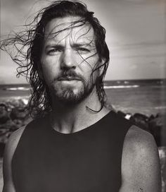 "Eddie Vedder. was gonna pin on my ""heavenly creatures"" board, but I guess he should go onto ""Music."""