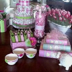Baby shower decorations by Carol
