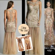 Shop this stunning embellished Runway Look by Dave & Johnny: http://www.missesdressy.com/dresses/designers/dave-and-johnny/10617