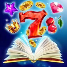 Graphic design of main logo for the game slot-machine. http://artforgame.com/