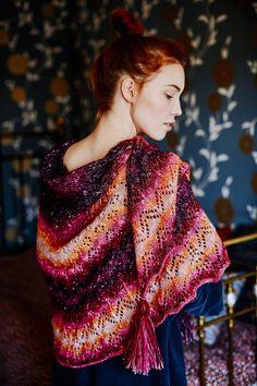 Pitsineulehuivi Novita Elegia | Novita knits