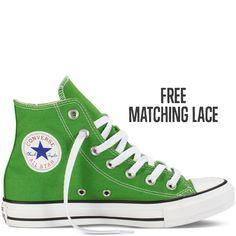 37076bae6f3d67 Chuck Taylor All Star Fresh Colors jungle green Womens size 8