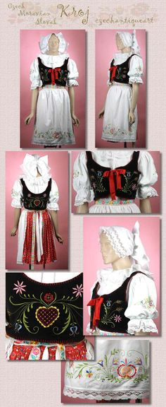 Folk Costume, Costumes, Bohemian Costume, European Countries, My Heritage, Czech Republic, Portugal, High Waisted Skirt, Culture