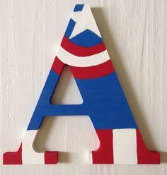 AVENGERS 10% OFF SALE!!! Avengers Superhero Wooden Letters, Iron Man, Captain American, Hulk, Spiderman, Thor, Hawkeye, Wood Wall Decorative by ArtsyAutly on Etsy https://www.etsy.com/listing/219817962/avengers-10-off-sale-avengers-superhero